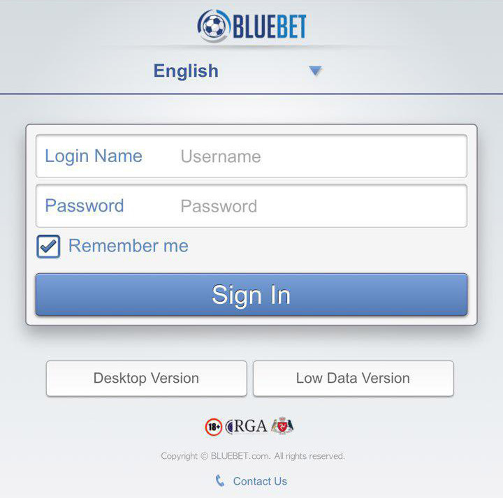 login-mobile-bluebet